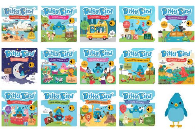 Ditty Bird book catalogue