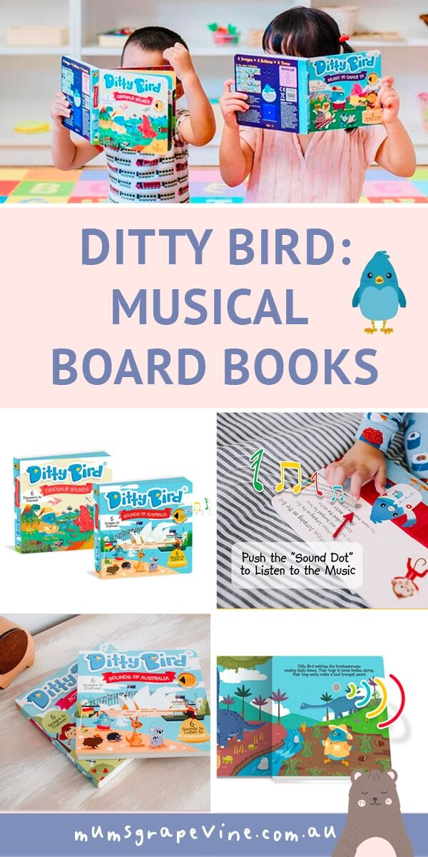 Ditty Bird Review: Musical board books