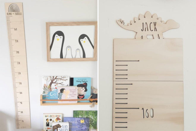 Best Height Charts: Words and Wood Online