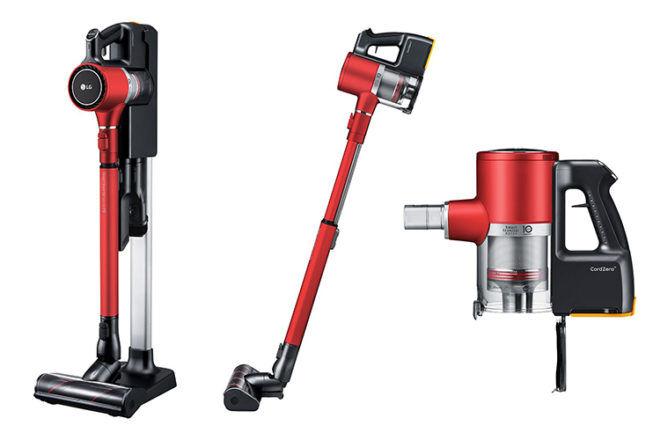 Best Stick Vacuums: LG CordZero