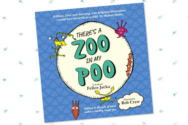 Book Review: There's A Zoo In My Poo by Felice Jacka
