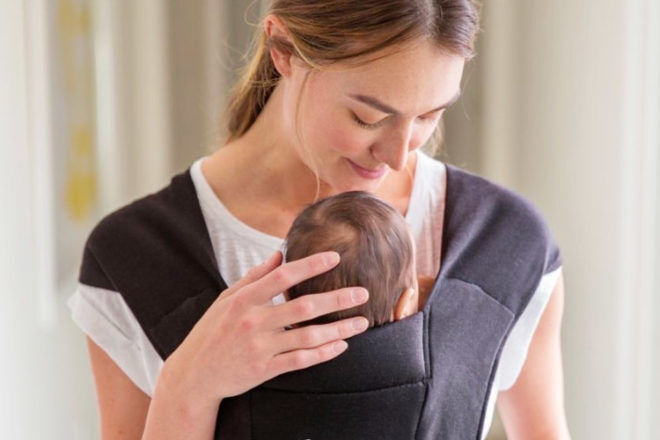 How to use a baby carrier to settle babies to sleep | Mum's Grapevine