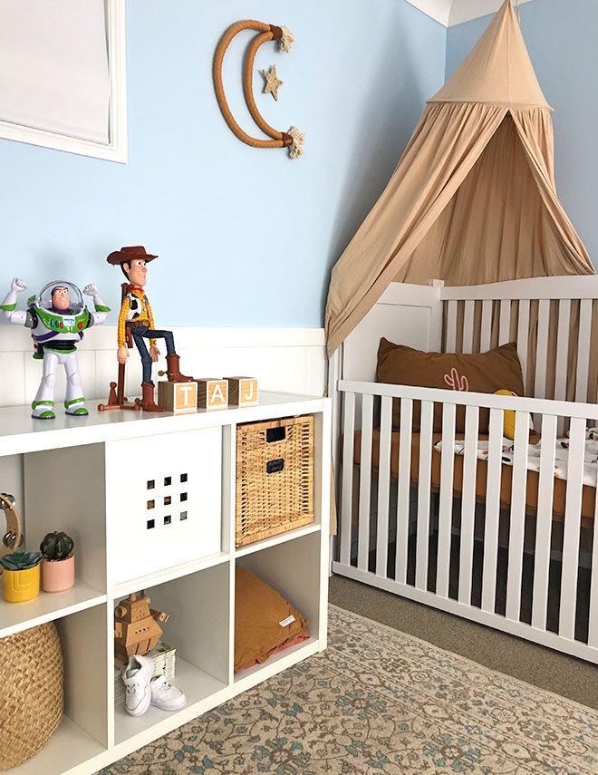 Boy nursery theme