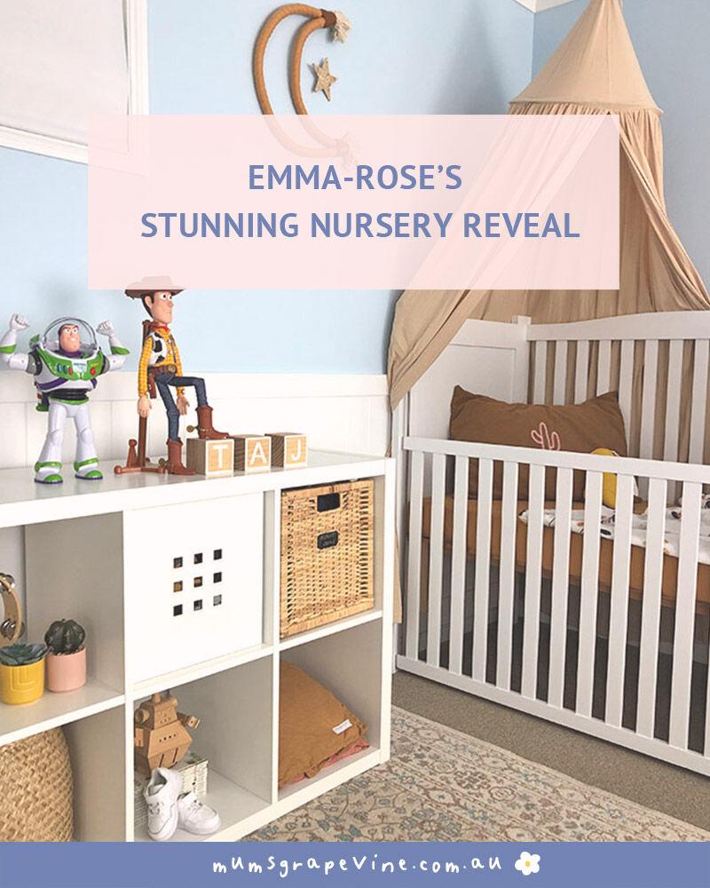 Emma-Rose Boho Nursery Reveal