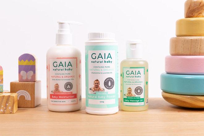 GAIA Skin Naturals talc