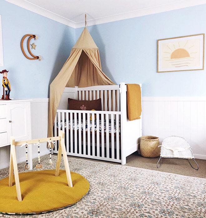 Gender reveal nursery