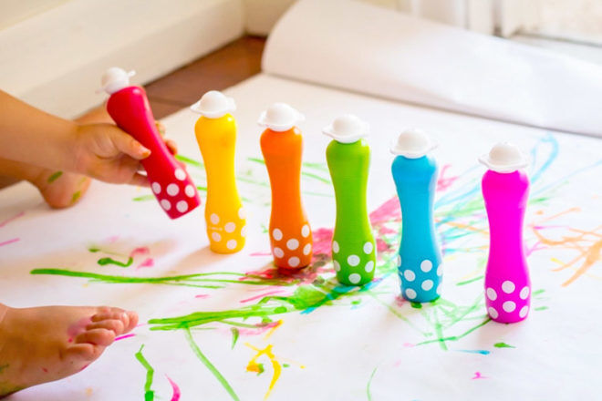 Best Toys for 18 Month Olds: Djeco Foam Markers