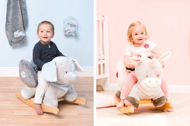 Best Toys for 18 Month Olds: Nattou Animal Rocker