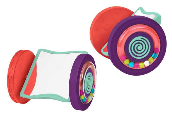 Toys for babies 6-12 months: BToys Looky-Looky Mirror