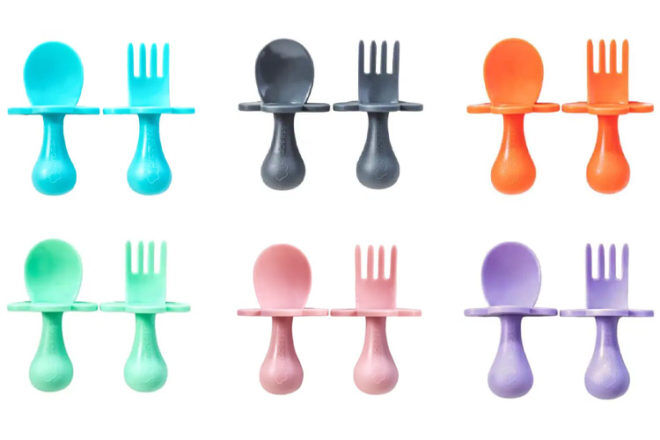 Gifts for babies 6-12 months: Grabease Cutlery