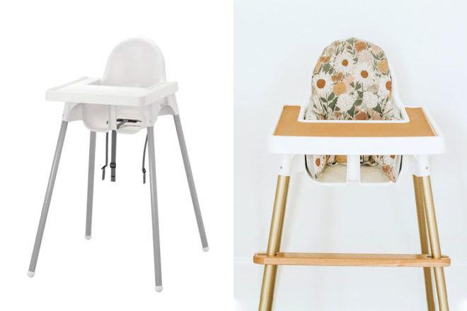 IKEA high chair hacks