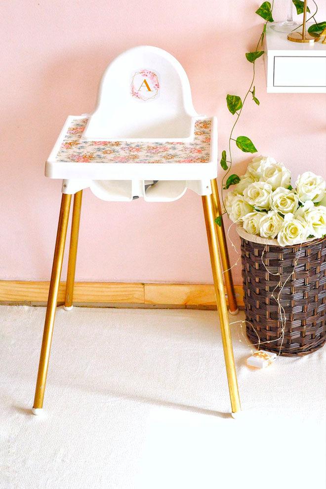 Ikea High Chair makeover Savory&Sweet Food