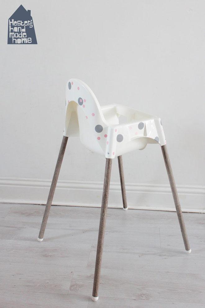 Ikea high chair hack Hester's Handmade Home