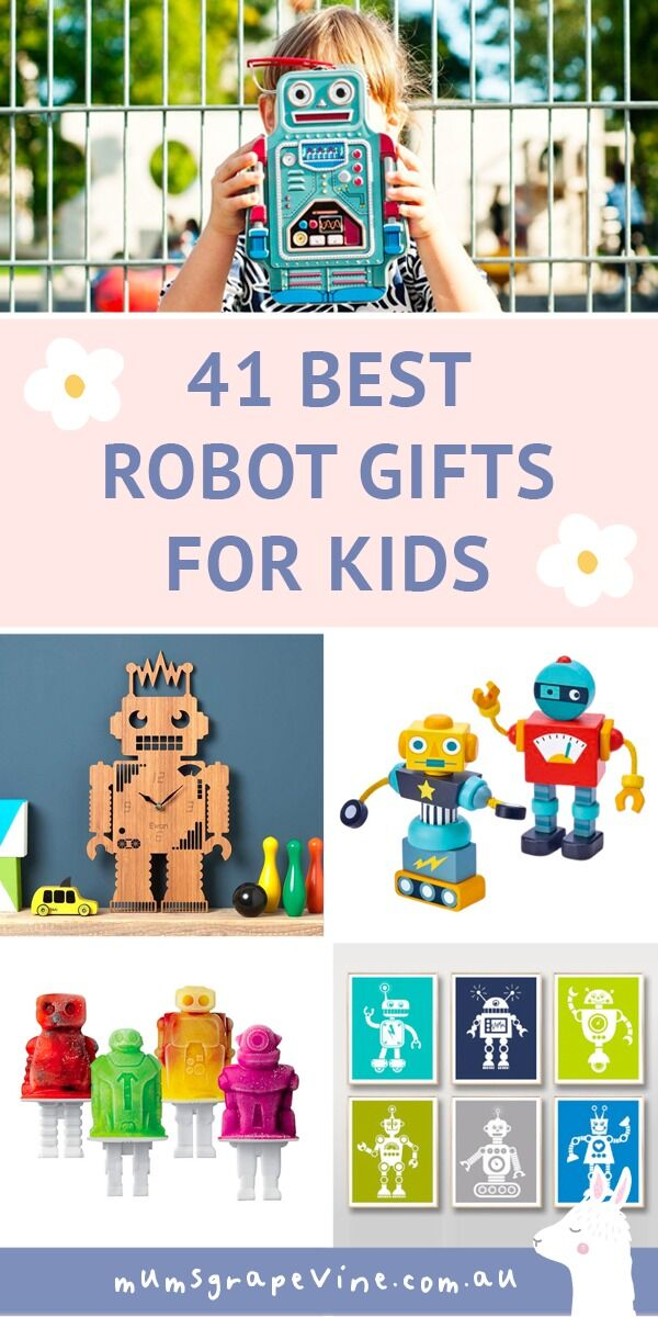 41 best robot toys and gifts for kids | Mum's Grapevine