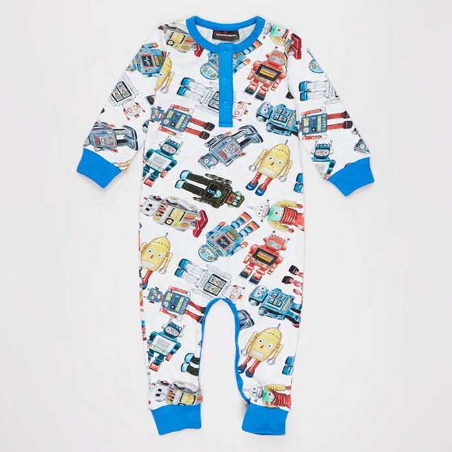 Best Robot Gifts and Toys: Rock Your Baby Robotic Playsuit