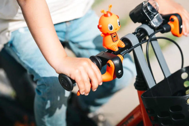 Best Robot Gifts and Toys: B Twin Robot Bike Bell