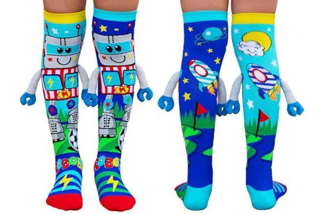 Robot Toys and Gifts: MADMIA Robot Socks