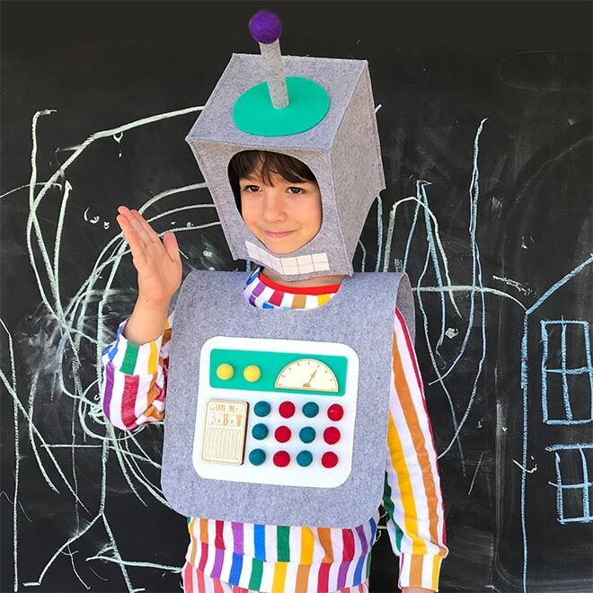 Best Robot Toys and Gifts: Mini Mad Things Robot Costume