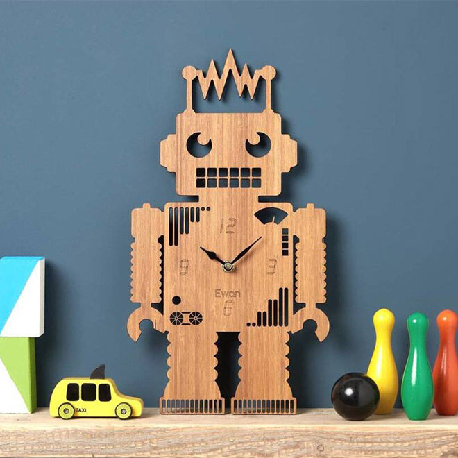 Best Robot Toys and Gifts: Owl and Otter Robot Clock