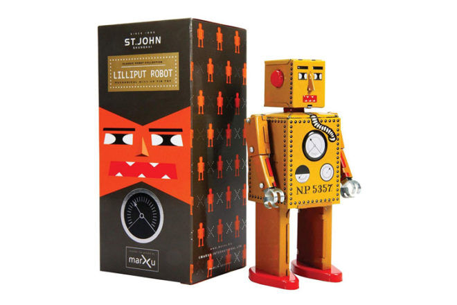 Robot Toys and Gifts: St. John Shanghai Lilliput Robot
