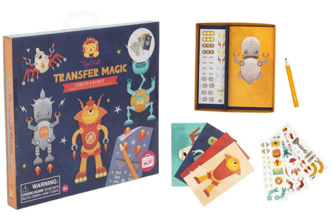 Best Robot Toys and Gifts: Tiger Tribe Transfer Magic