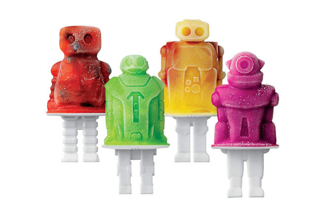 Robot Toys and Gifts: Tovolo Robot Ice Pop Moulds