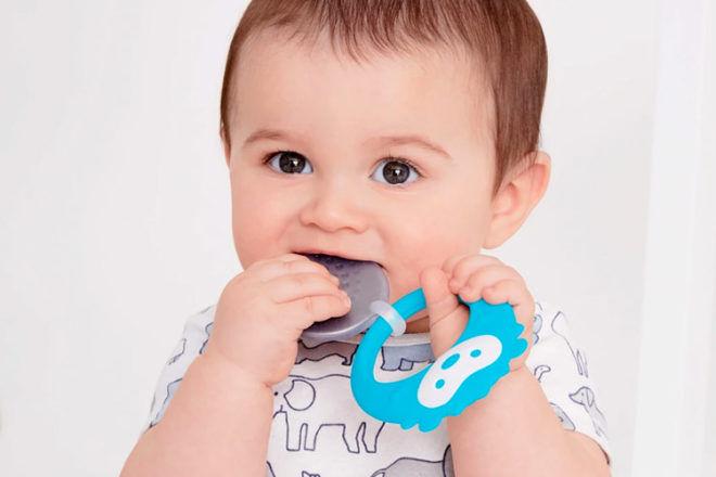 Best Teething Toys: Skip Hop Stay Cool Teether