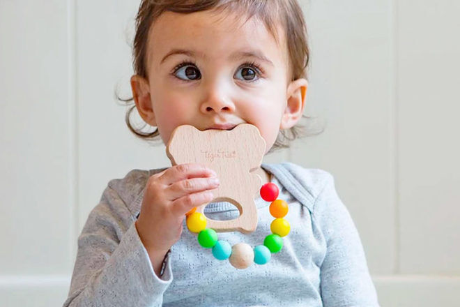 Best Teething Toys: Tiger Tribe