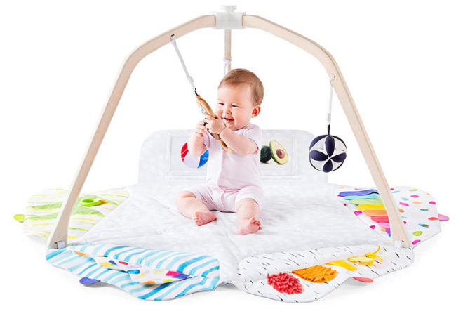 Best Toys for 3 Month Olds: Lovevery Play Gym