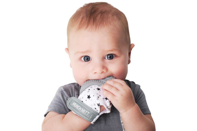 Best Gifts and Toys for 3 Month Olds: Malarkey Munch Mitt