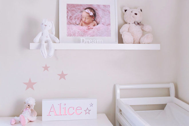 Best Toys for 6 Month Olds: Mylight Personalised Night Light