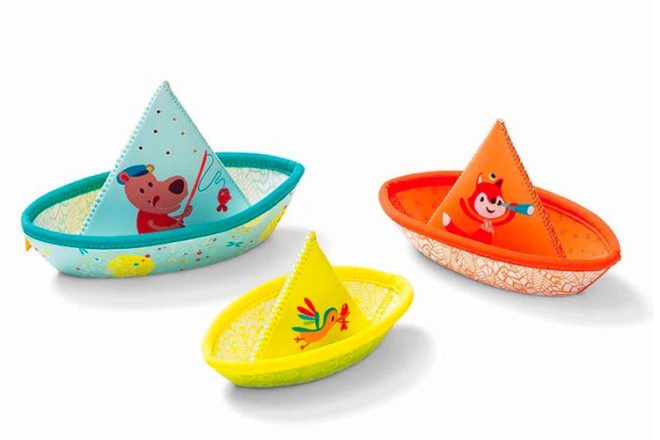 Best Toys for 6 Month Olds: Lilliputiens 3 Boats