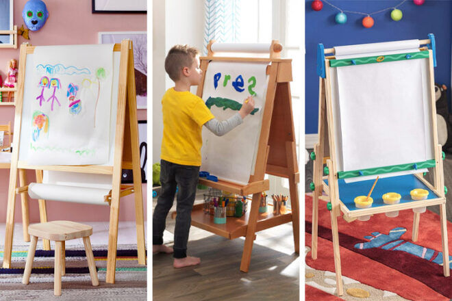 Best kids easels for creative play   Mum's Grapevine