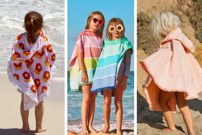 11 best hooded beach towels for kids | Mum's Grapevine