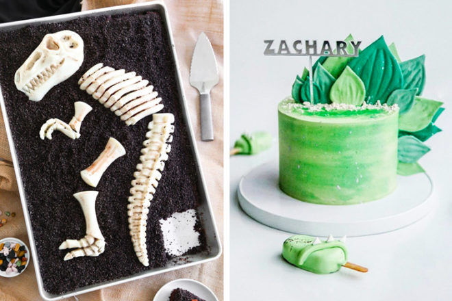 22 dinosaur cake ideas for a roar-some birthday party | Mum's Grapevine
