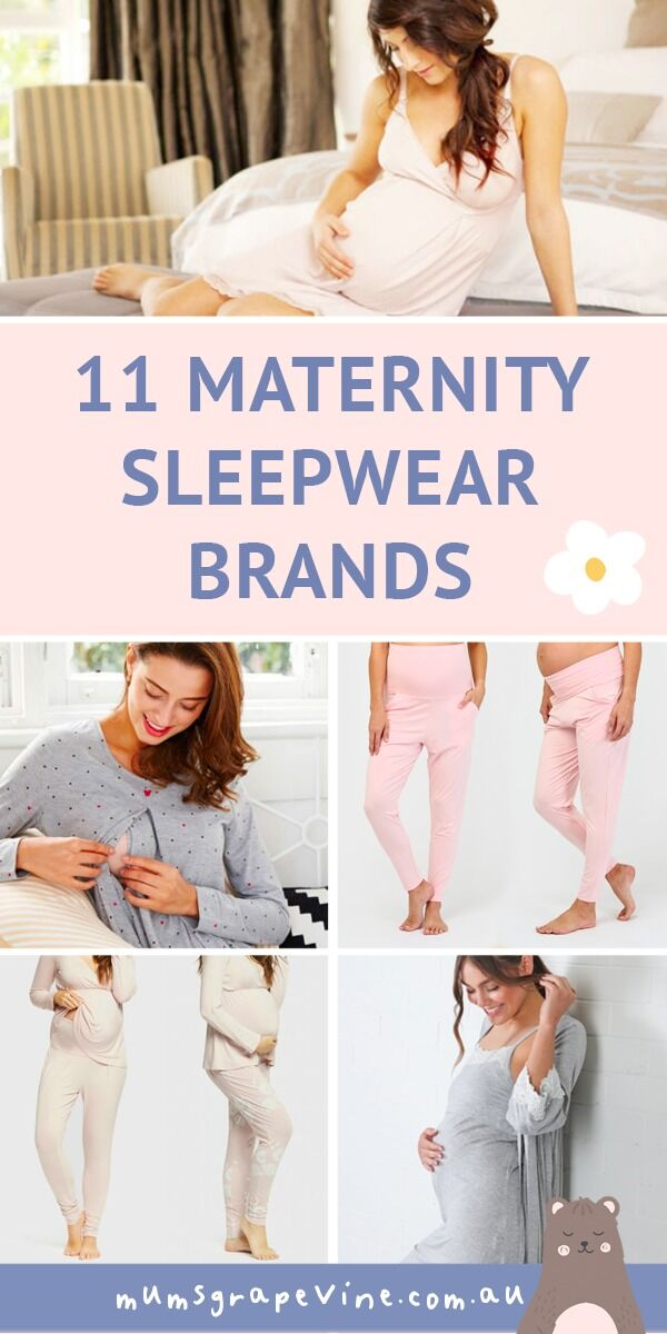 11 best maternity sleepwear brands for expecting mums | Mum's Grapevine