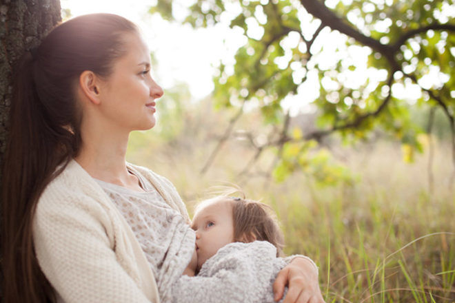 Breastfeeding can stop women from menstruating and ovulating