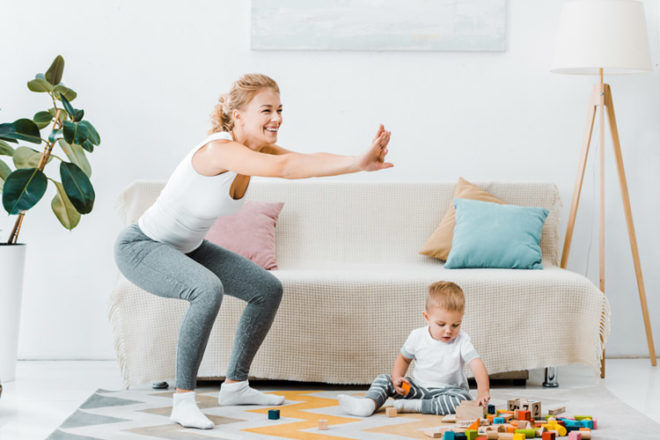 Increase daily activity to help prepare your body for pregnancy