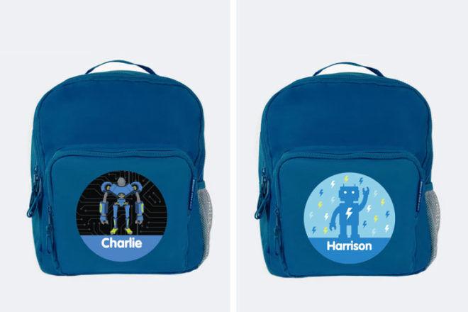 Bright Star Kids Robot Backpack