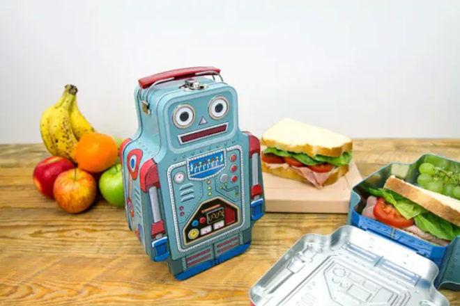 SUCK UK Robot lunch box