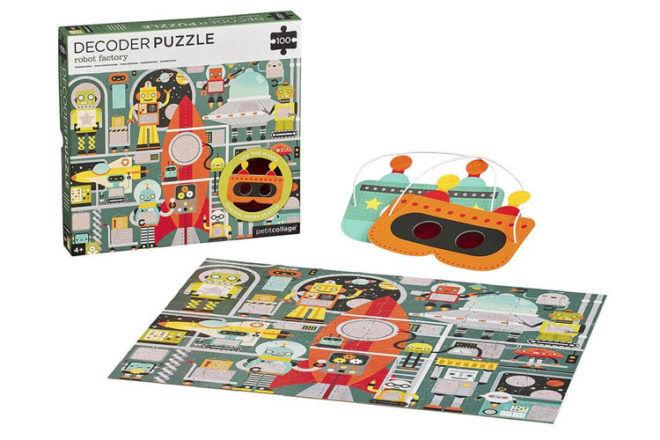 Decoder floor puzzle Petite Collage