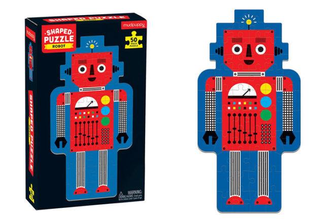 MudPuppy robot shape puzzle