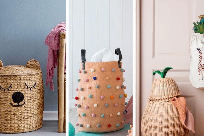 Best Nursery storage baskets