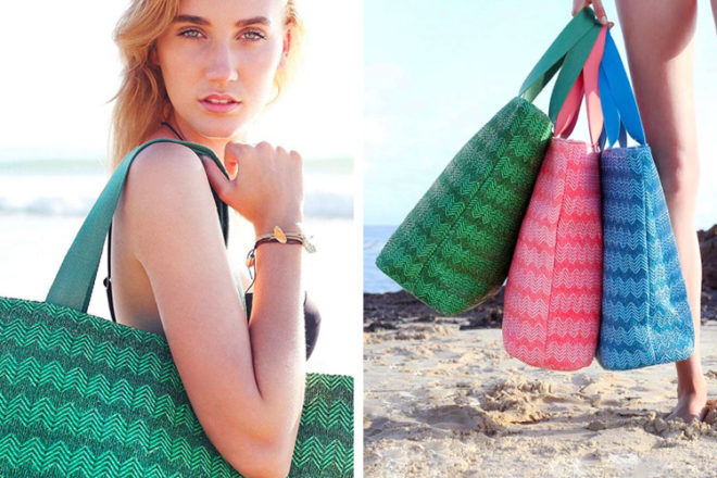 Beach Bags: Mary and Marie