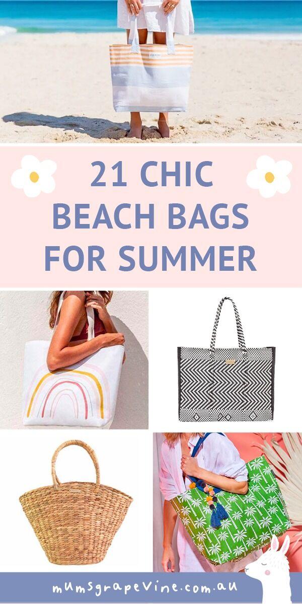 21 best beach bags for summer | Mum's Grapevine
