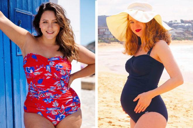 Maternity Swimwear: Capriosca Swimwear