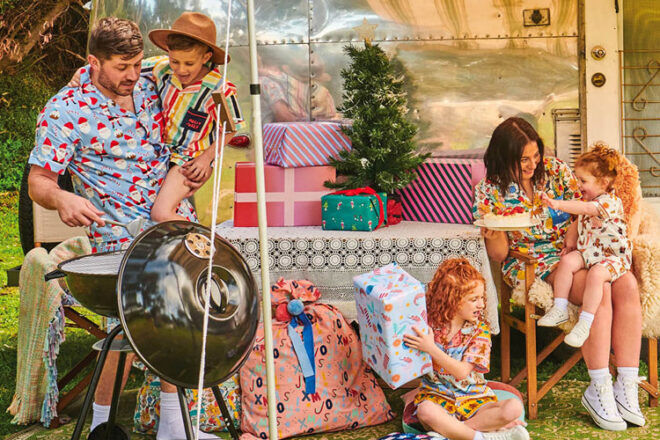 Cotton On Kids Matching Christmas Pj's
