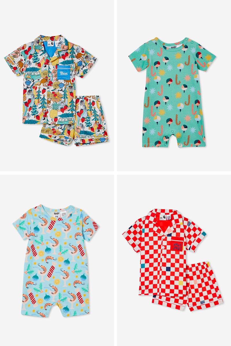 Cotton On Kids Christmas family sleepwear