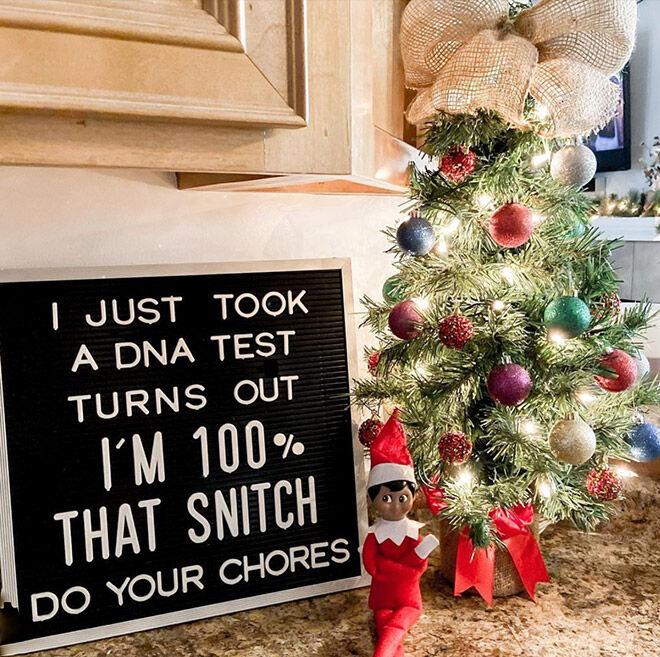 Elf on the Shelf ideas 2020