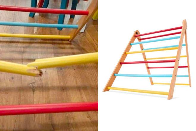 Kmart climbing ladder withdrawn